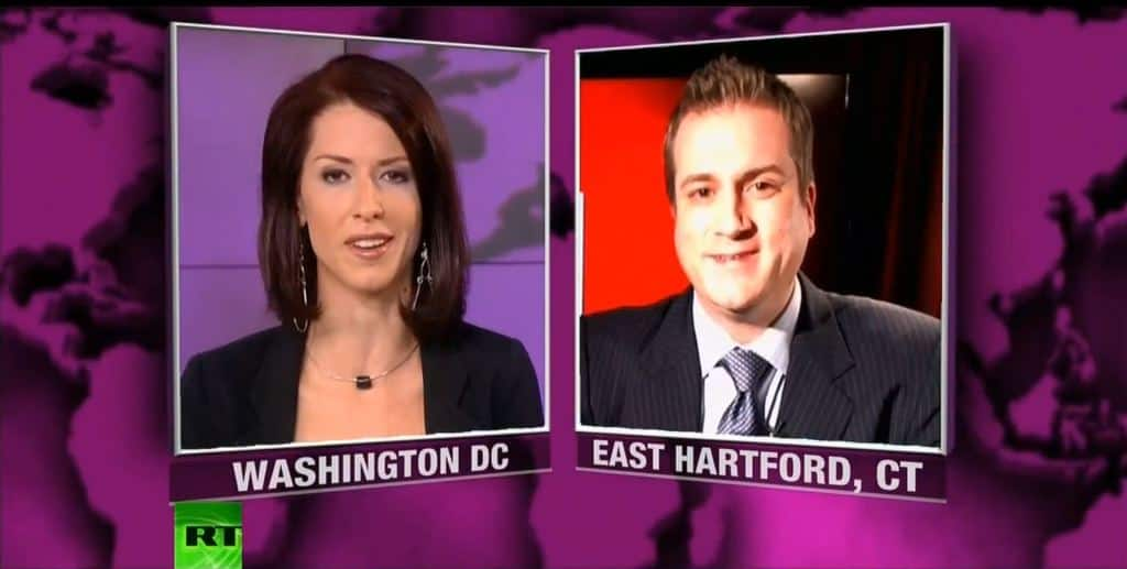 "Abby Martin interviews Richard Grove on Russia Today's ""Breaking the Set"" (RT)"