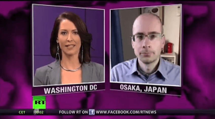 "Trivium, Conspiracies and Alt Media – James Corbett with Abby Martin on ""Breaking the Set"" (RT)"