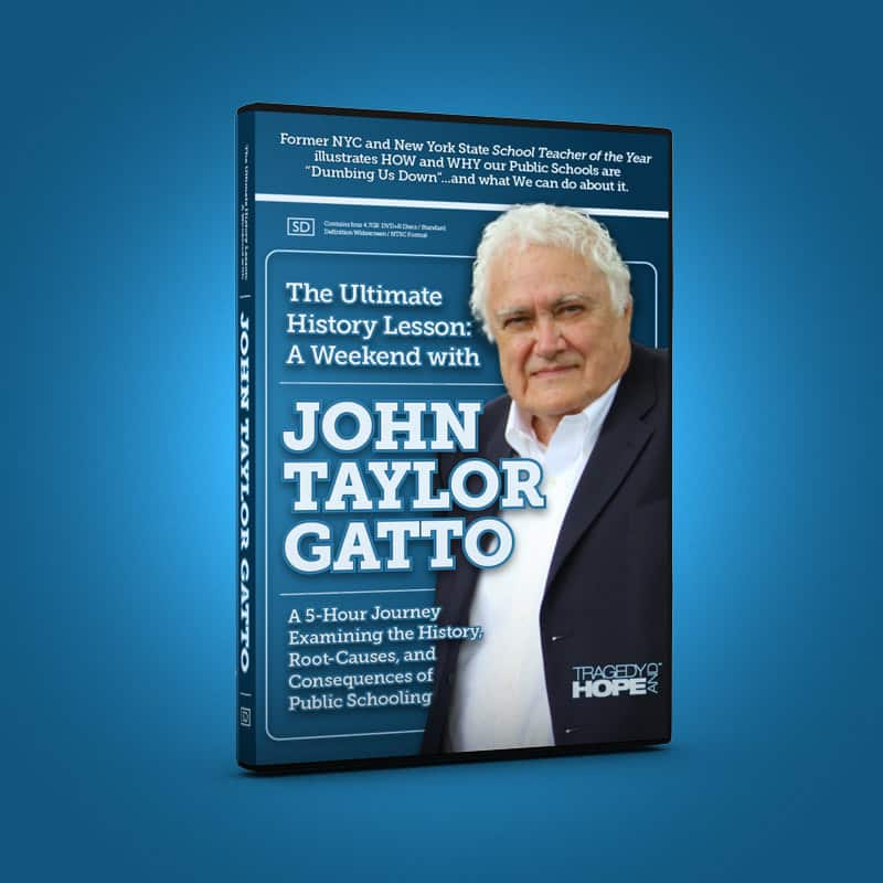 john gatto essay The seven-lesson schoolteacher written by: john taylor gatto done by: kendra, bradi, meredith, and james summary: gatto breaks his essay ,the seven-lesson schoolteacher into seven lessons: confusion, class position, indifference, emotional dependency, intellectual dependency.