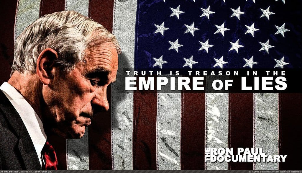 """Empire of LIES: The Ron Paul Documentary"" / Interview with Charles Goyette"