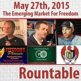 The Emerging Market For Freedom & Our Place In It (Richard Grove & Ernest Hancock join Brett Veinotte)