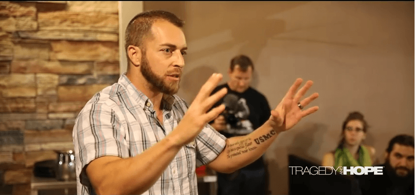 Adam Kokesh / Hartford Speech on the Campfire Freedom! Tour